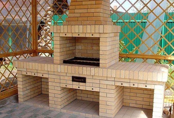 Малые архитектурные формы из кирпича